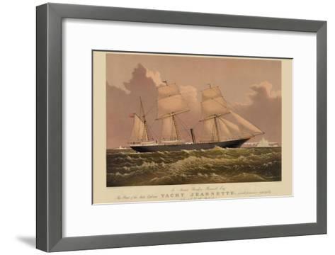 Yacht Jeannette--Framed Art Print