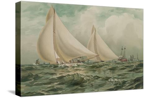 Vigilant and Valkyre--Stretched Canvas Print