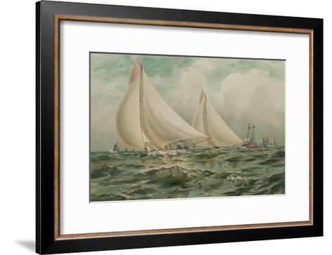 Vigilant and Valkyre--Framed Art Print