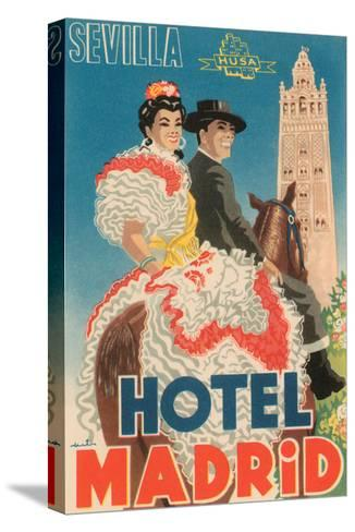 Hotel Madrid--Stretched Canvas Print