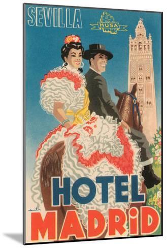 Hotel Madrid--Mounted Art Print
