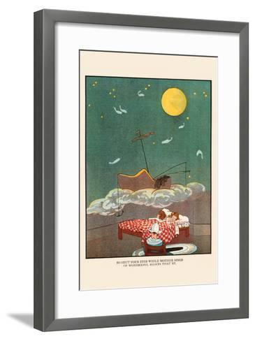 Shut Your Eyes While Mother Sings-Eugene Field-Framed Art Print