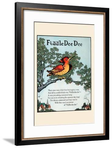 Fiddle Dee Dee-Eugene Field-Framed Art Print