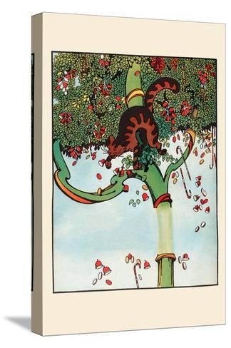 Candy Tree Treats-Eugene Field-Stretched Canvas Print