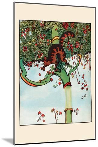 Candy Tree Treats-Eugene Field-Mounted Art Print