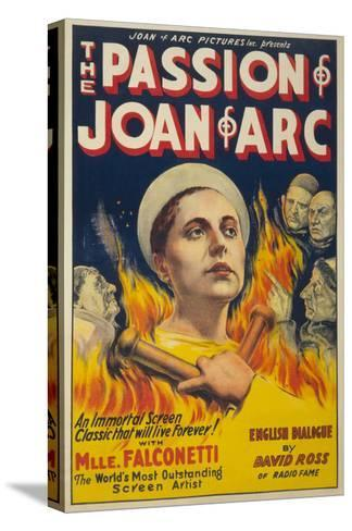 The Passion of Joan of Arc- Eloquent Press-Stretched Canvas Print