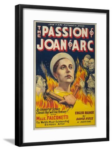 The Passion of Joan of Arc- Eloquent Press-Framed Art Print