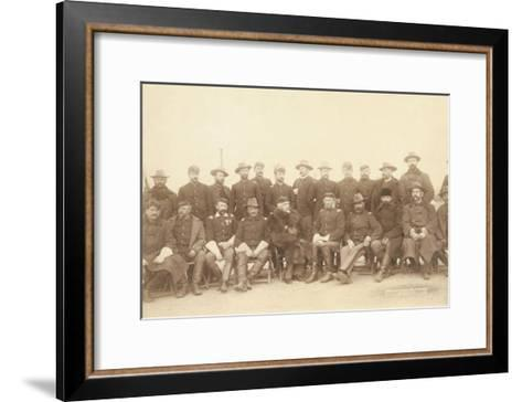 The Fighting 7th Officers-John C^H^ Grabill-Framed Art Print