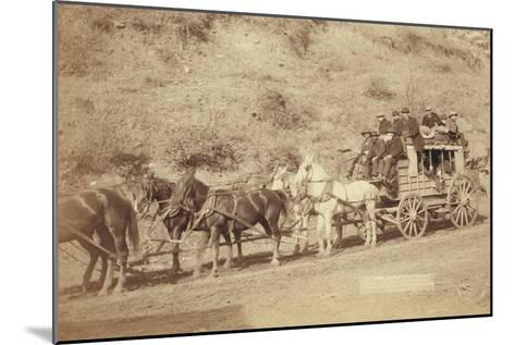 The Last Deadwood Coach-John C^H^ Grabill-Mounted Art Print