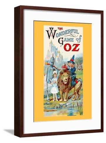 The Wonderful Game of Oz-John R^ Neill-Framed Art Print