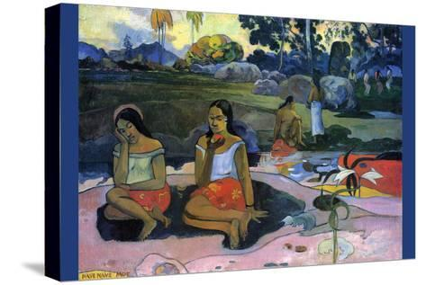 Nave Nave Moe-Paul Gauguin-Stretched Canvas Print