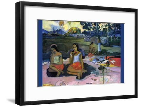 Nave Nave Moe-Paul Gauguin-Framed Art Print