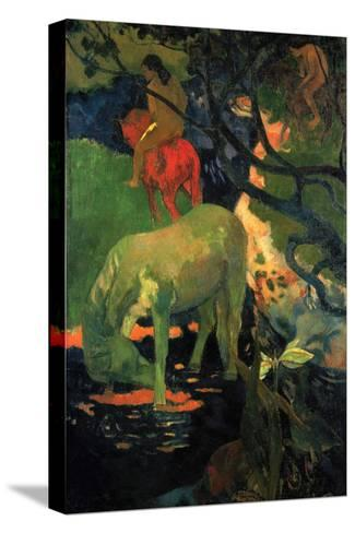 The Mold-Paul Gauguin-Stretched Canvas Print