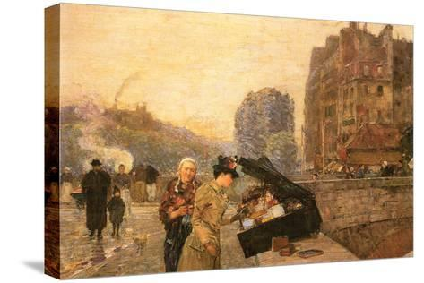 St Michel-Childe Hassam-Stretched Canvas Print