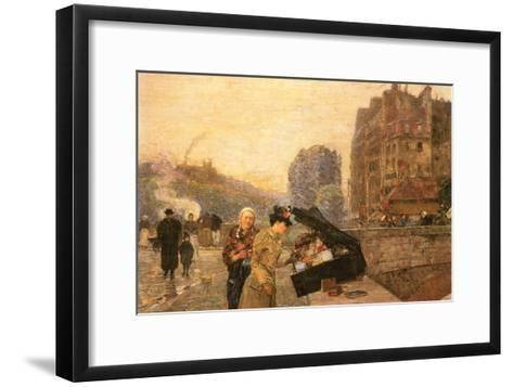 St Michel-Childe Hassam-Framed Art Print