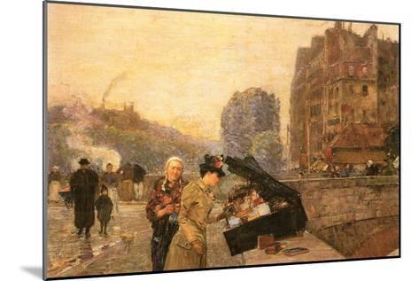 St Michel-Childe Hassam-Mounted Art Print