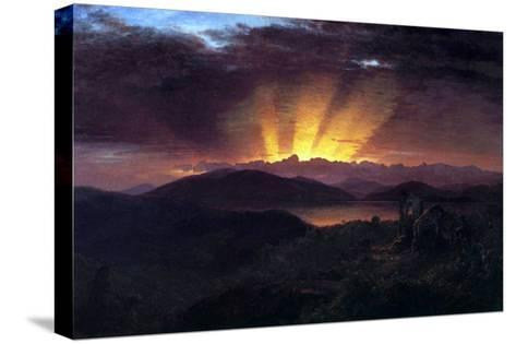 After the Annealing-Frederic Edwin Church-Stretched Canvas Print