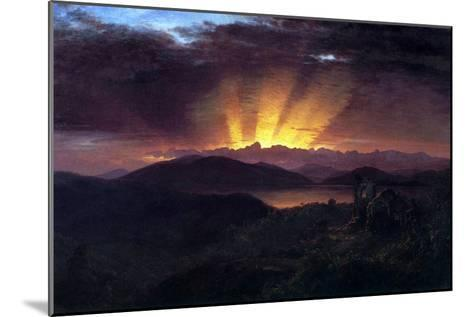After the Annealing-Frederic Edwin Church-Mounted Art Print
