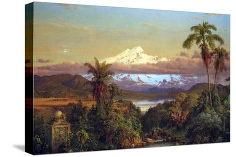 Cayambe, Ecuador-Frederic Edwin Church-Stretched Canvas Print