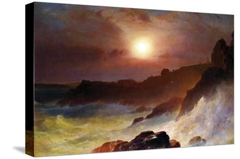 Coast Scene, Mount Desert-Frederic Edwin Church-Stretched Canvas Print