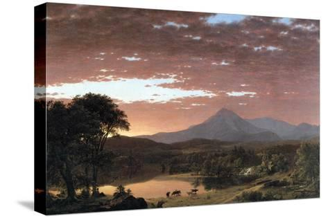 Mount Ktaadn (Katahdin)-Frederic Edwin Church-Stretched Canvas Print