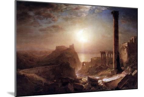 Syria on the Sea-Frederic Edwin Church-Mounted Art Print