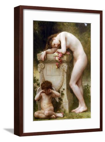 Elegy-William Adolphe Bouguereau-Framed Art Print