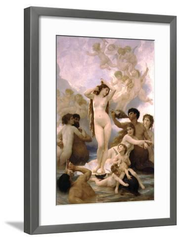 The Birth of Venus-William Adolphe Bouguereau-Framed Art Print