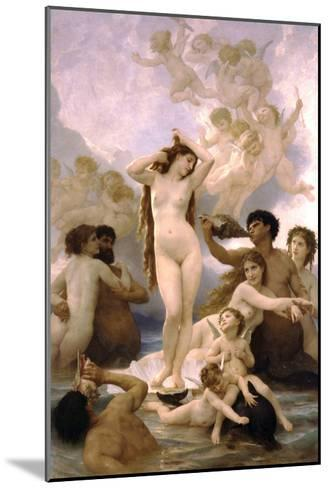 The Birth of Venus-William Adolphe Bouguereau-Mounted Art Print