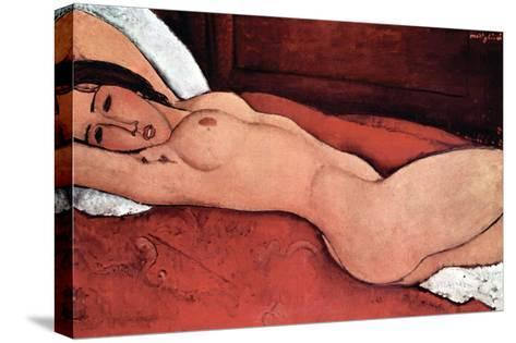 Nude-Amedeo Modigliani-Stretched Canvas Print