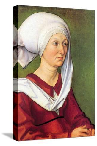 Portrait of Barbara Durer, Born Holper-Albrecht D?rer-Stretched Canvas Print