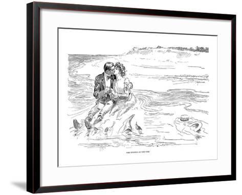 Gibson: Turning Tide, 1901-Charles Dana Gibson-Framed Art Print