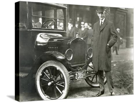 Henry Ford (1863-1947)--Stretched Canvas Print