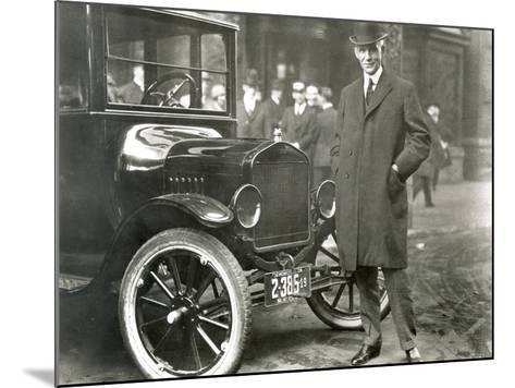 Henry Ford (1863-1947)--Mounted Giclee Print