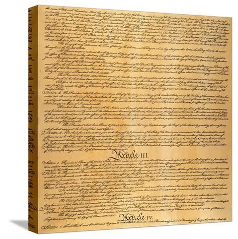 The Constitution, 1787--Stretched Canvas Print