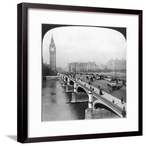 London: Big Ben--Framed Art Print
