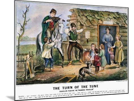 Folk Tradition, 1870-Currier & Ives-Mounted Giclee Print