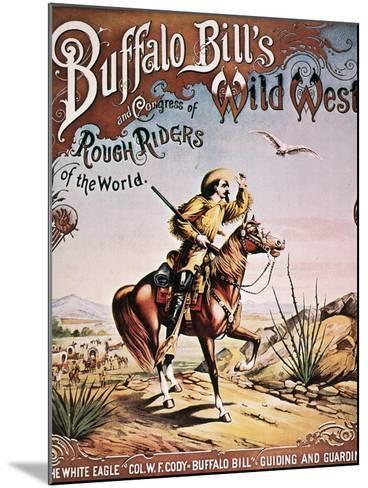 Buffalo Bill: Poster, 1893--Mounted Giclee Print