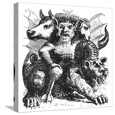 Asmodeus--Stretched Canvas Print