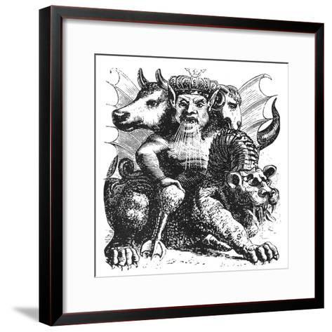 Asmodeus--Framed Art Print