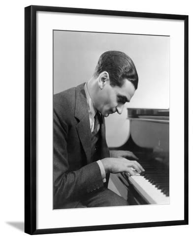 Irving Berlin (1888-1989)--Framed Art Print