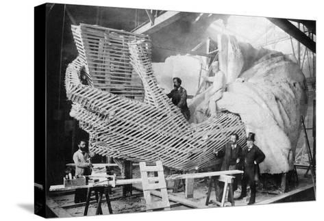 Statue of Liberty, 1883--Stretched Canvas Print