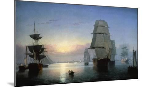 Lane: Boston Harbor-Fitz Hugh Lane-Mounted Giclee Print