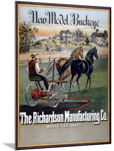 Farm Machinery Advertisement--Mounted Giclee Print