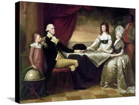 The Washington Family-Edward Savage-Stretched Canvas Print