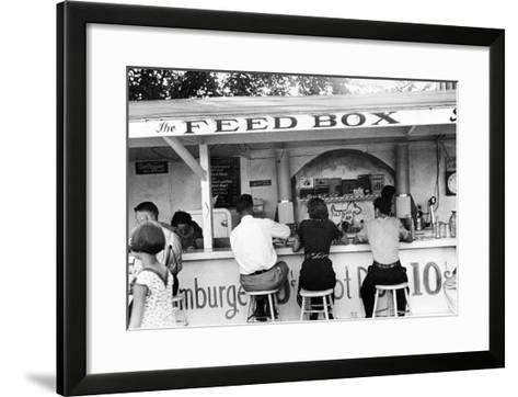 Ohio: Luncheonette, 1938-Ben Shahn-Framed Art Print