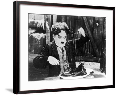 Chaplin: The Gold Rush--Framed Art Print