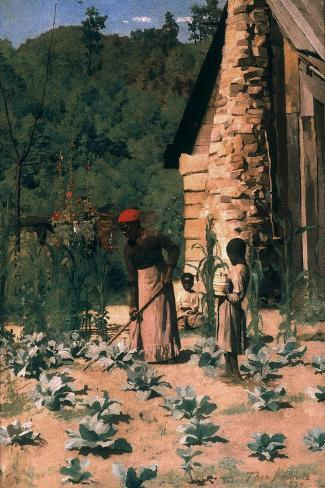 Black Sharecroppers, 1879-Thomas Pollock Anshutz-Stretched Canvas Print