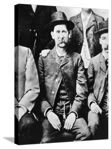 Wyatt Earp (1848-1929)--Stretched Canvas Print