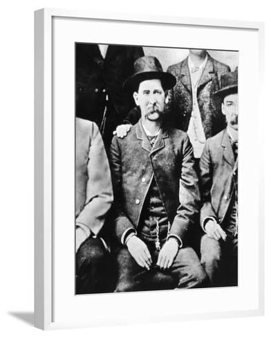 Wyatt Earp (1848-1929)--Framed Art Print
